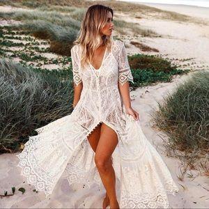 Spell & The Gypsy RARE Rhiannon Crochet Lace Gown